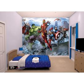 Walltastic 3D Tapeta Avengers Assemble  (2438 mm x 3048 mm)