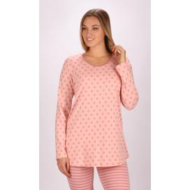 Dámské pyžamo dlouhé Hvězdy
