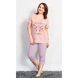 Dámské pyžamo kapri Heart
