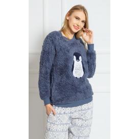 Dámské pyžamo dlouhé Tučňák