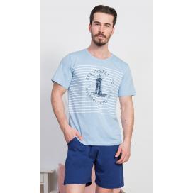 Pánské pyžamo šortky Maják