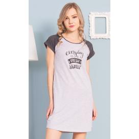 Dámská noční košile s krátkým rukávem Fresh