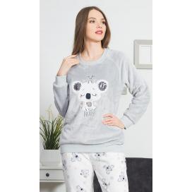 Dámské pyžamo dlouhé Koala Happy