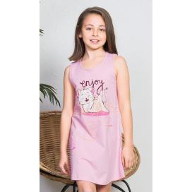 Dětská noční košile na ramínka Kotě