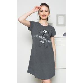 Dámská noční košile s krátkým rukávem Good morning