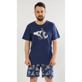 Pánské pyžamo šortky Angler fish