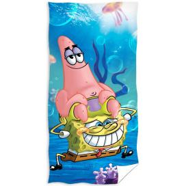 Carbotex osuška Spongebob 70x140 cm