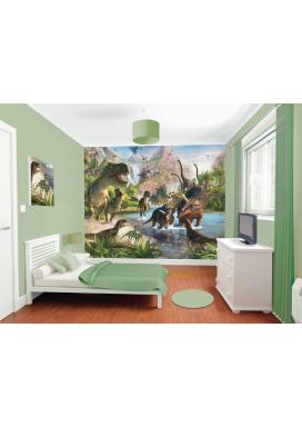 Walltastic 3D Tapeta Dinosauři (2438 mm x 3048 mm)