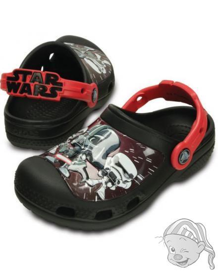 CROCS CC Star Wars Darth Vader Clog - barva Black