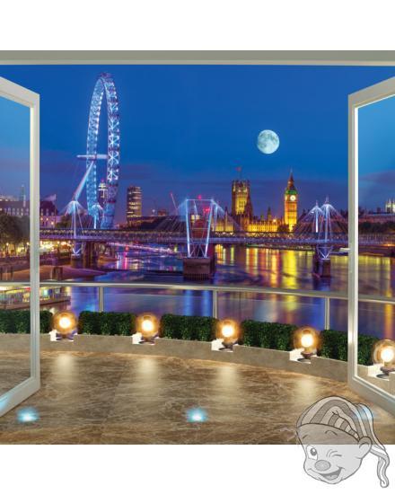 Walltastic 3D Tapeta Londýn (2438 mm x 3048 mm)