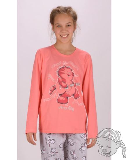 Dětské pyžamo dlouhé Kocour