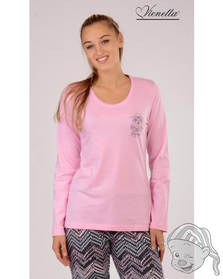 010beeafb457 Dámské pyžamo dlouhé Malá Sova