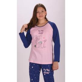 Dětské pyžamo dlouhé Malí králíci