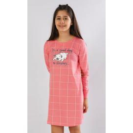 Dětská noční košile s dlouhým rukávem Ospalec