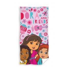 Carbotex osuška Dora and Friends 70x140 cm